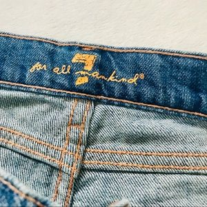 7 For All Mankind Jeans - 7 for all mankind Parker Gaucho jeans short